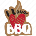 bbq, café, food, grill, networking, restaurant, sticker icon