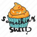 café, cake, food, networking, pastry, restaurant, sticker icon