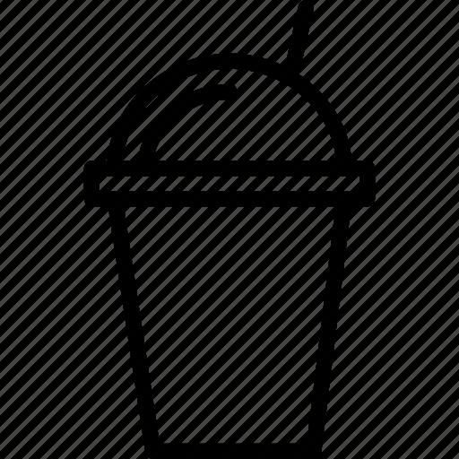 cool, ice, milkshake, summer icon