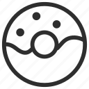 25px, donnut, iconspace icon