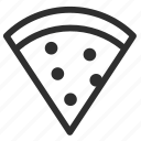 25px, iconspace, pizza icon