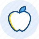 apple, drink, food icon