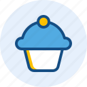 cherry, cupcakes, drink, food icon