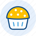 cupcakes, drink, food icon