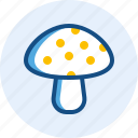 drink, food, mushroom icon