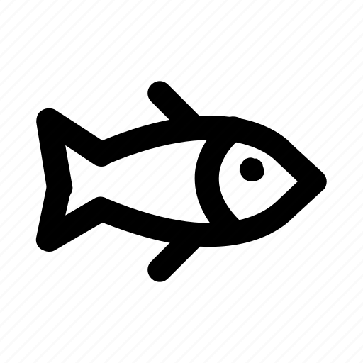 eat, fish, food, meal, water icon