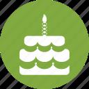 birthday, cake icon