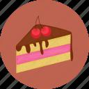 cake, chocolate, cream, dessert