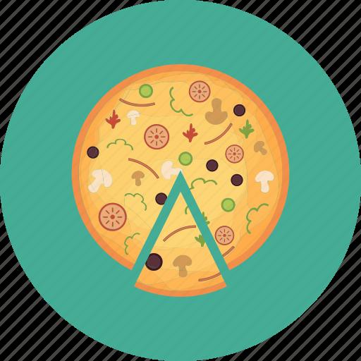 food, italian food, pizza, pizza slice icon