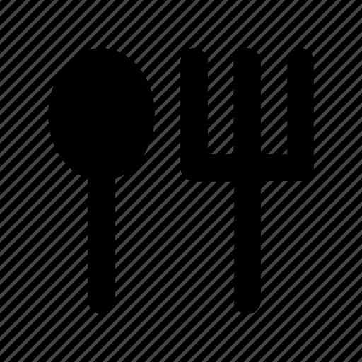 cutlery, eating utensil, fork, spoon, utensils icon