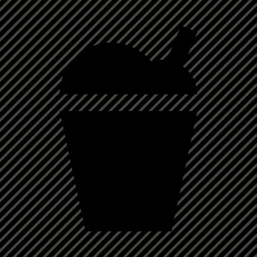 cocktail, milk icon