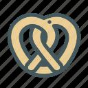 food, pretzel, sweet icon