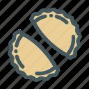 food, pastel icon