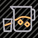 aqua, beverage, glass, jug, water