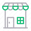building, market, shop, stall, store icon