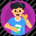 eating food, eating meal, foodie, eating pizza, italian food