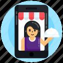 food app, online food, restaurant app, online restaurant, online food service