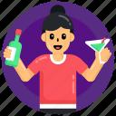 drink, bar, wine, pub, beverage