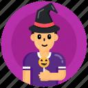 halloween avatar, halloween lollipop, lollipop, sweet, candy