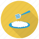 asian, bowl, food, friedrice, recipe, rice, sushi icon