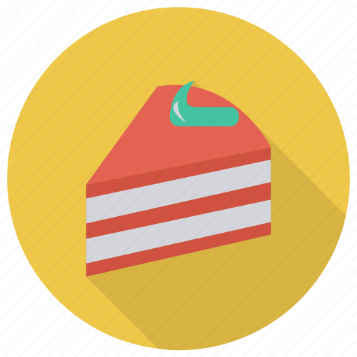 birthday, cake, celebration, cherry, cupcake, food, valentine icon