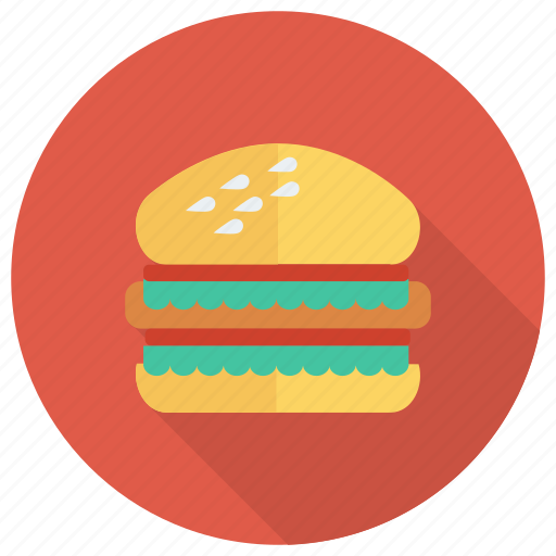 beef, burger, cooked, eat, eating, fastfood, food icon