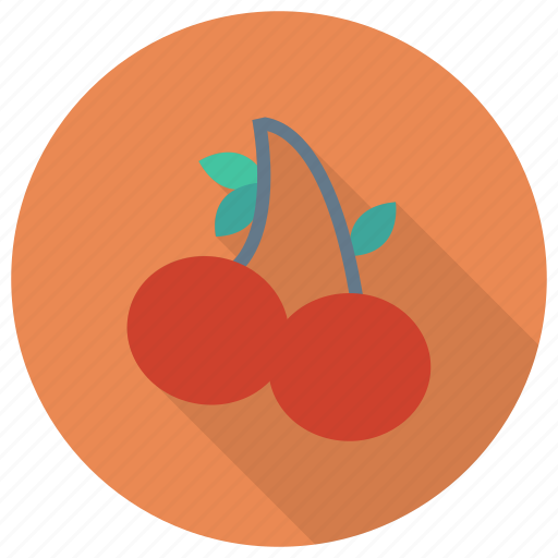 berry, cherries, cherry, food, fruit, fruits, spring icon