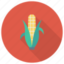 cooking, corn, eating, food, grain, popcorn, vegetable icon
