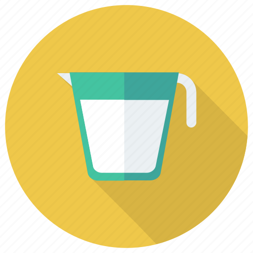 drink, food, jug, kitchen, milk, pot, utensil icon