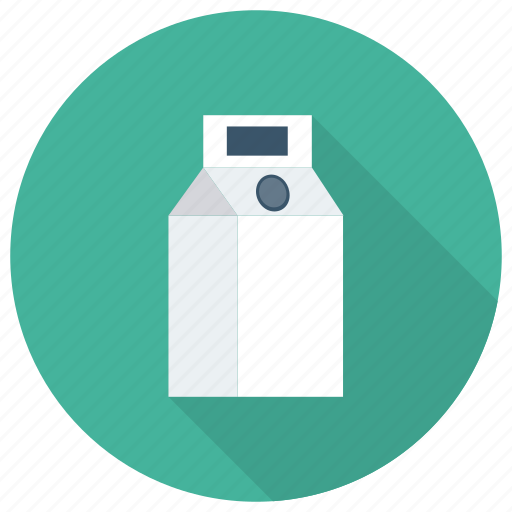 drink, drinks, food, milk, pack, packet, tetra icon