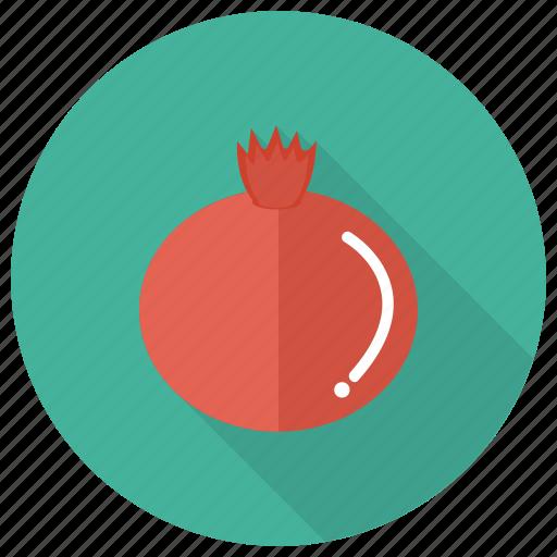 fresh, freshfruit, fruit, garnetfruit, juicy, pomegranate, sweet icon