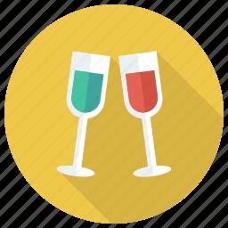 applefruit, drink, fruit, glass, juice, milk, orange icon