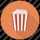 cinema, corn, film, food, movie, popcorn, vegetable