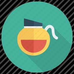 boiler, jar, kitchen, pot, tea, teapot, water icon