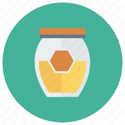 bee, dessert, food, honey, jam, jar, sweet icon
