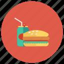 burger, cheeseburger, coke, drink, fastfood, food, hamburger