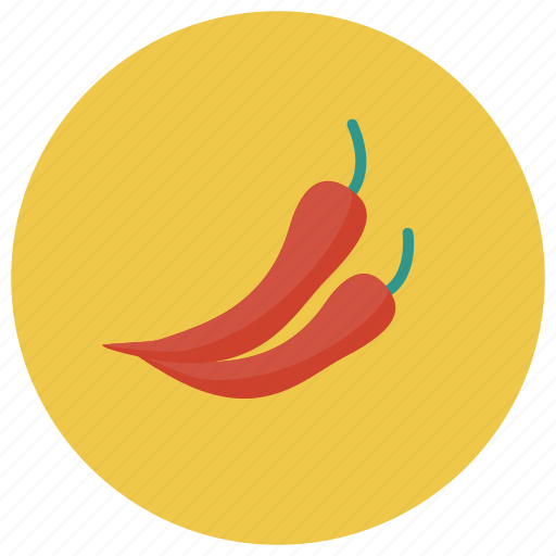 chili, food, green, red, sauce, spicy, vegetable icon
