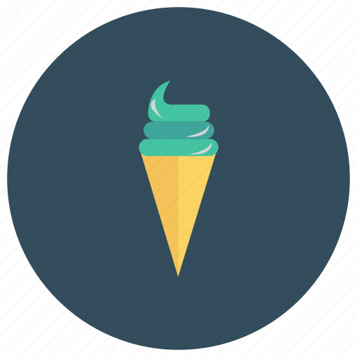 birthday, christmas, cone, cream, ice, icecream, party icon