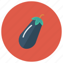 brinjal, cooking, eggplant, food, healthy, melongene, vegetable icon