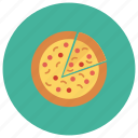 bake, fastfood, food, italianfood, pizza, slice, slicer icon