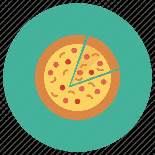 bake, fastfood, food, italianfood, pizza, slice, slicer icon
