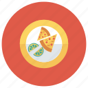 fast, food, halflemon, lime, meal, pizza, slice icon