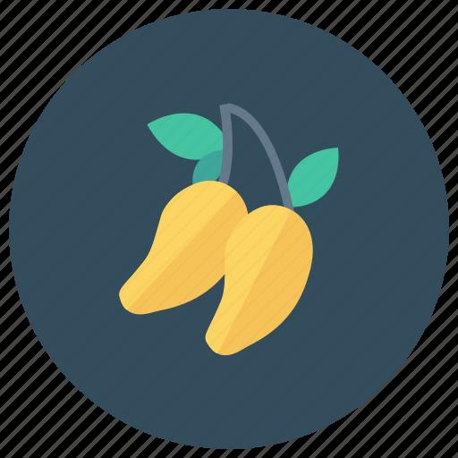 Food, fresh, freshfruit, fruit, mango, summer, yellowmango icon - Download on Iconfinder