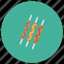 bbq, fast, fastfood, food, grill, hot, hotdog icon