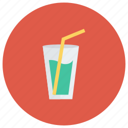 drinks, food, juice, milk, orange, shake, summer icon