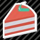 birthday, cake, celebration, cherry, cupcake, food, valentine