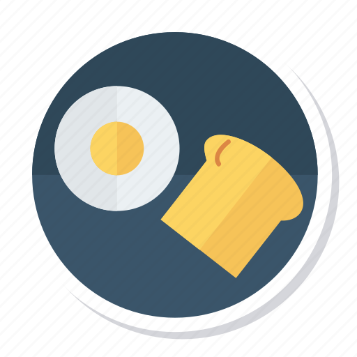 baker, boiled, bowl, bread, egg, food, wheat icon