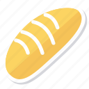 baker, bread, eat, fastfood, food, hamburger, toasts icon