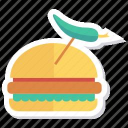 burger, cheeseburger, eat, fastfood, food, hamburger, meal icon