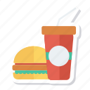 beef, burger, drink, fastfood, food, hamburger, junkfood